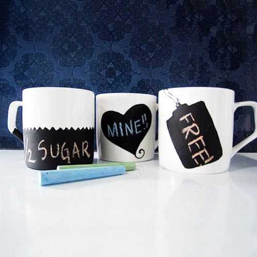 No more confusion! Mark your coffee mugs with names - cooliyo.com
