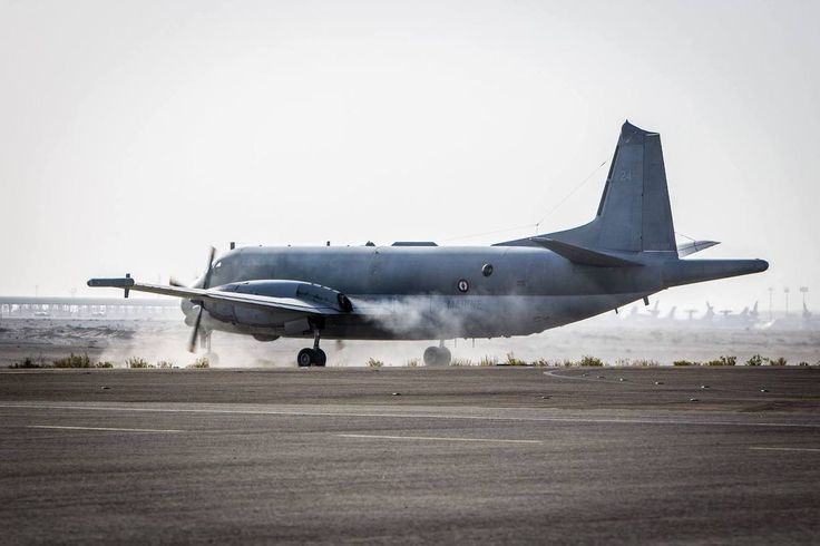French Marine Nationale Dassault Breguet Atlantique II (or Atl 2) marine reconnaissance aircraft, now often successfully operated overland as reconnaissance, patrol and command a/c.