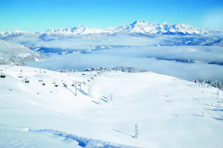 Like skiing on clouds... Photo credit TUI, in the Swiss Alps