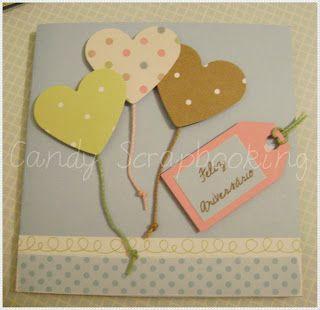 Candy Scrapbooking: Cartões Aniversário