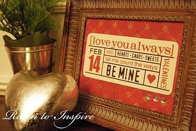 Valentine project inspiration