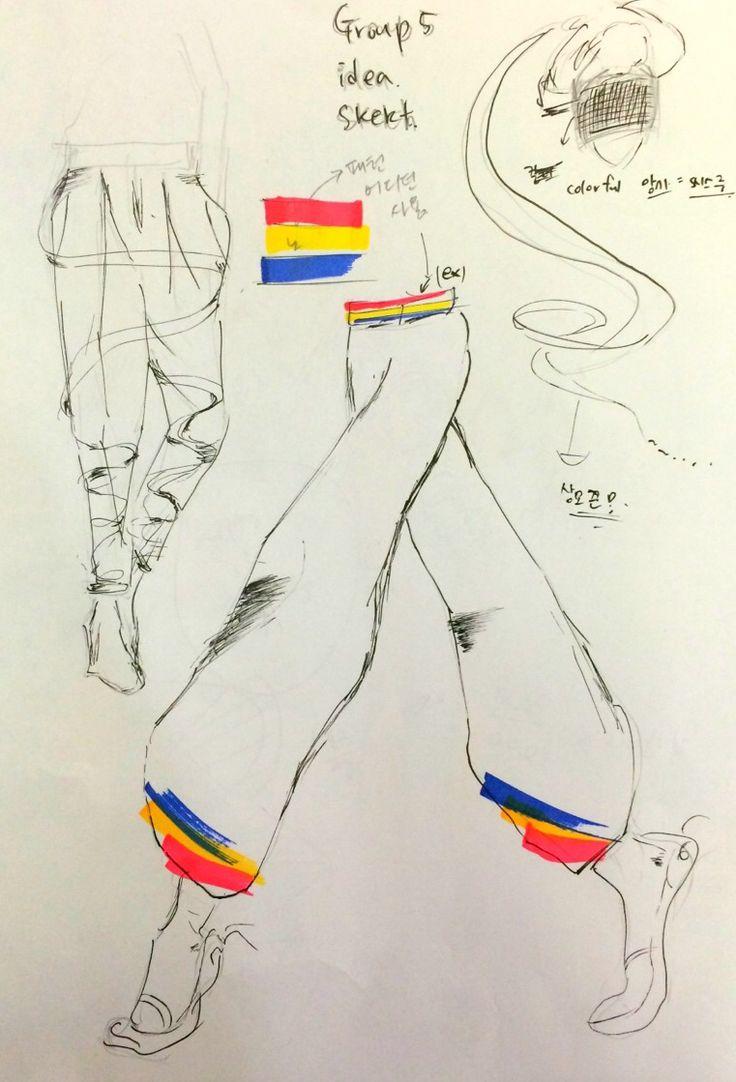Theme: Samulnori Group 5 Idea Sketch