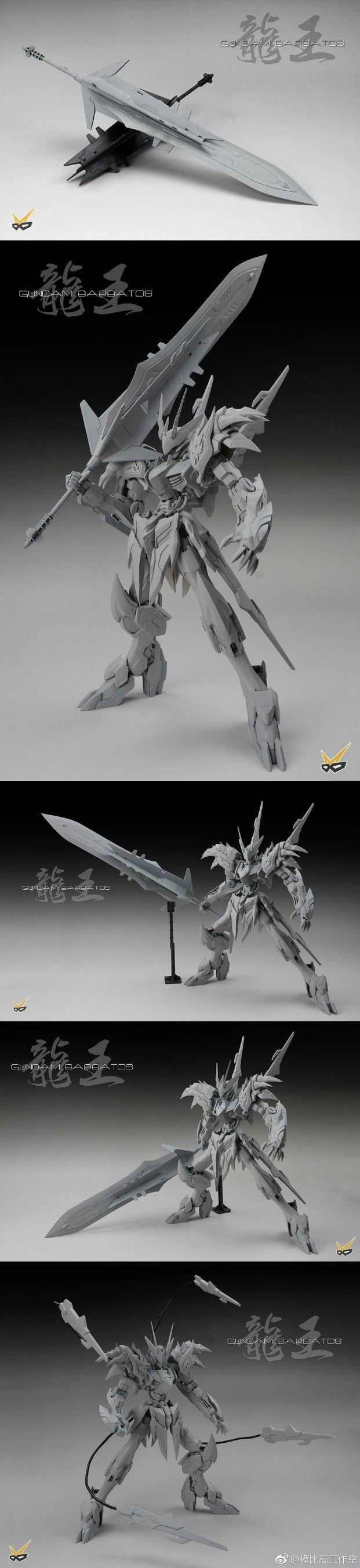 www.pointnet.com.hk - 模型改裝作品 1/100 Gundam Barbatos + 龍王丸 GK