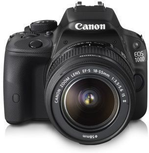 Suitable for beginners and semi-professional photographers, the #EOS #100D from #Canon is a #DSLR camera you would love to use.