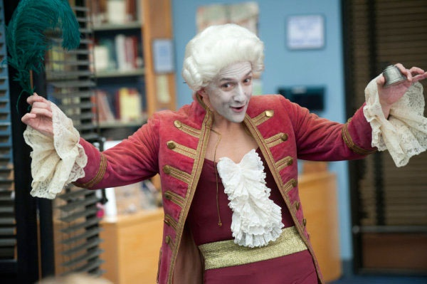 "Dean Pelton as the ""AmaDEANus"""