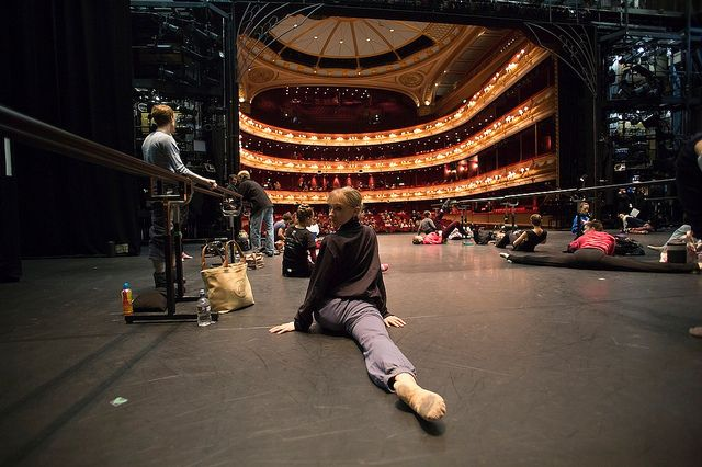 The Royal Ballet in Class on the Royal Opera House Main Stage © Andre Uspenski 2012 by Royal Opera House Covent Garden, via Flickr