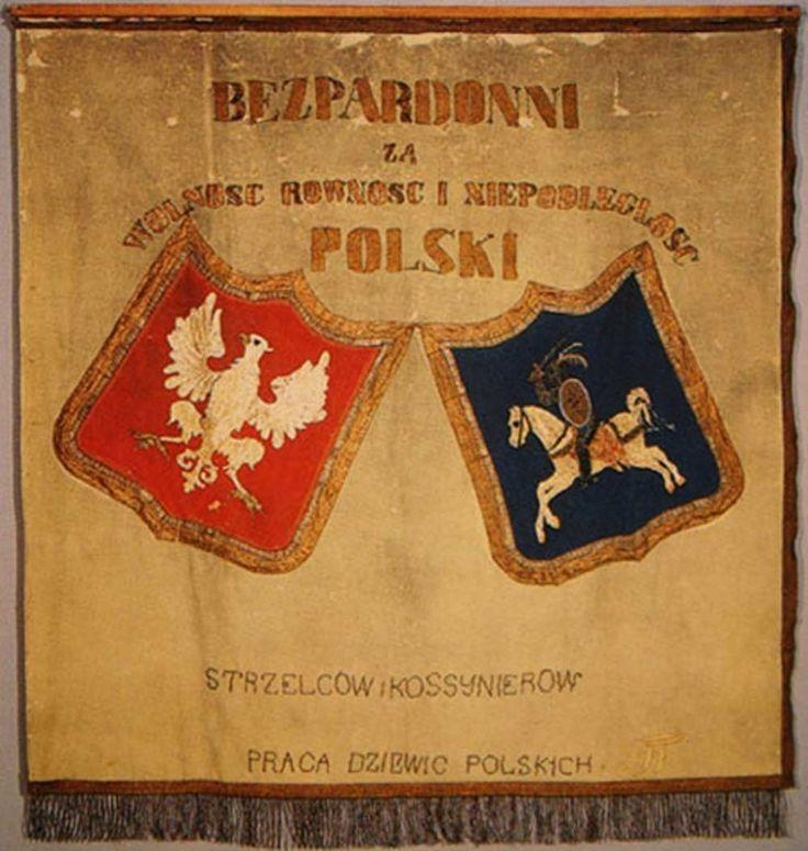 Малюнак 5. Штандар стральцоў і касінераў 1863 г.
