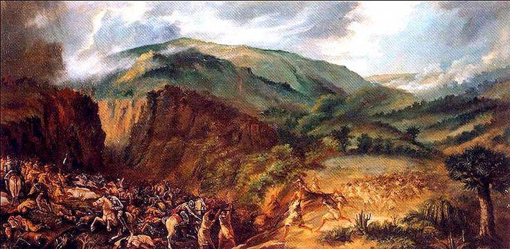 Barranco de Acentejo. El Sitio Histórico del Barranco de Acentejo ocupa gran parte del cauce de este barranco, también conocido como de San Antonio, que constituye el principal canal de drenaje de la comarca. Nace en la vertiente norte de la Cordillera Dorsal de la isla, a una altitud de 1.500 m.s.n.m., en el ámbito de Las Lagunetas, desembocando en la Punta de la Sabina, tras más de 6 km lineales de recorrido.