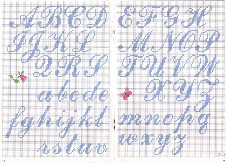 abecedarios em ponto cruz - Ask.com Image Search