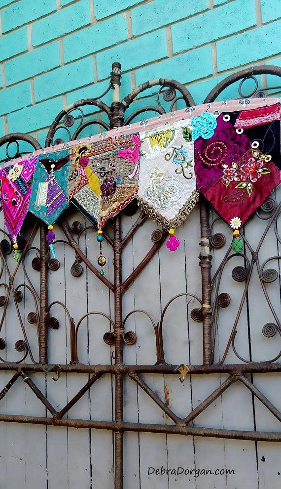 Gordijnkast deur of venster Wall Decor Toran Vintage