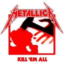Estampa para camiseta Metallica 000274