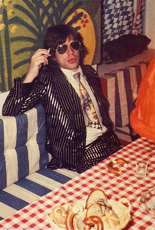 superseventies:  Mick Jagger, 1973