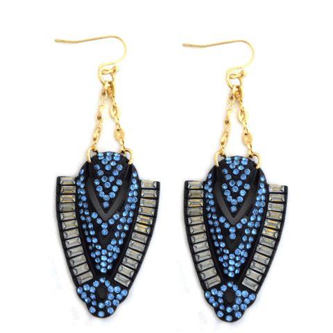 Inca Blue earrings