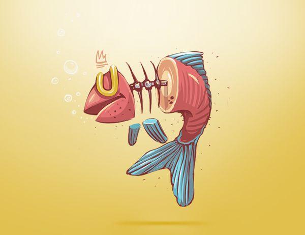 Illustrations 2 by Georgi Dimitrov - Erase, via Behance