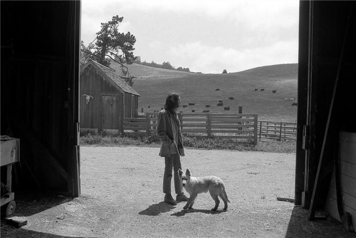 Henry Diltz/  Neil Young & ranch-living dreams...