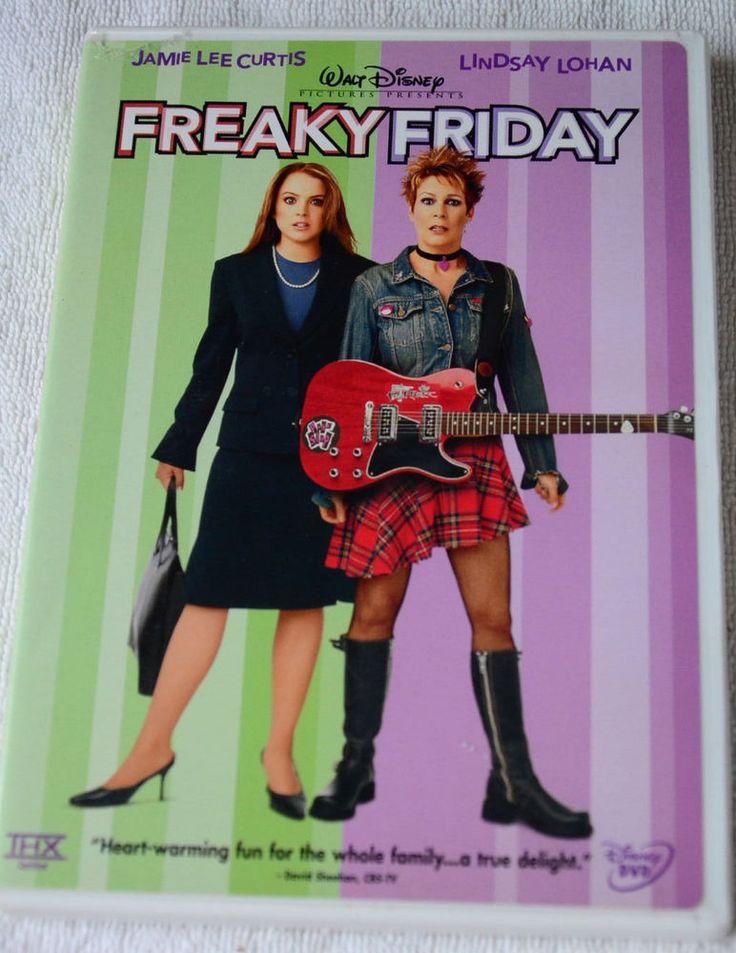 Freaky friday dvd 2003 jamie lee curtis freaky