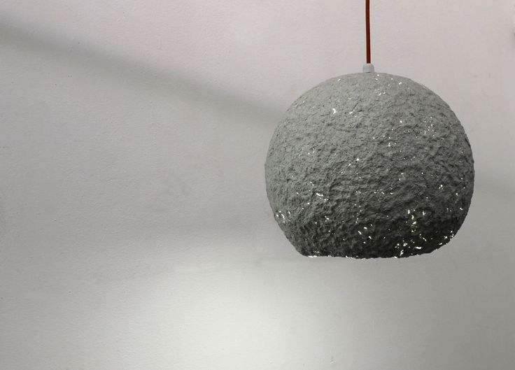 Papermache Ball Lamp www.papermachestore.com
