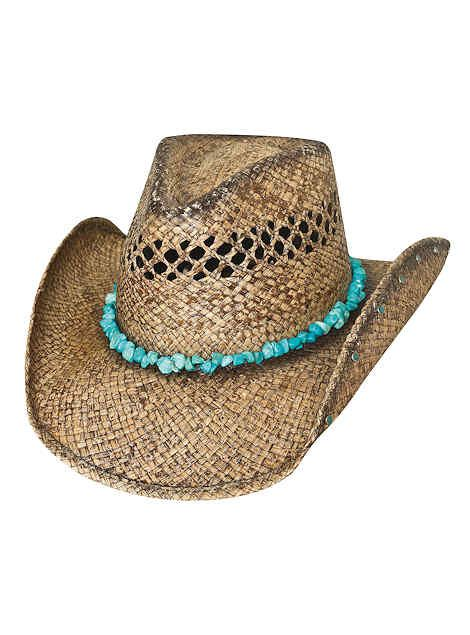 Bullhide Hats Western Straw Run A Muck Collection Year of Summer 2795 Womens Natural, $48.00 #country #cowgirlstyle #cowboyhats