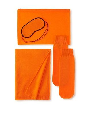 Sofia Cashmere Travel Set, Hermes Orange