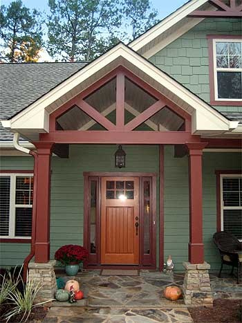 NOTE TO SELF: color palette and wide front door // Split Ranch plan