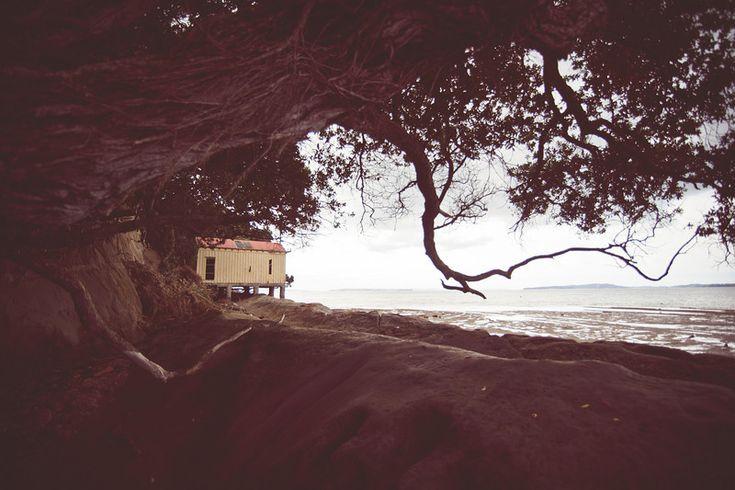 Shelley Bay, Beachlands, New Zealand.