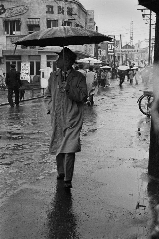 © Han Youngsoo - Myeongdong, Seoul, Korea 1956-1963