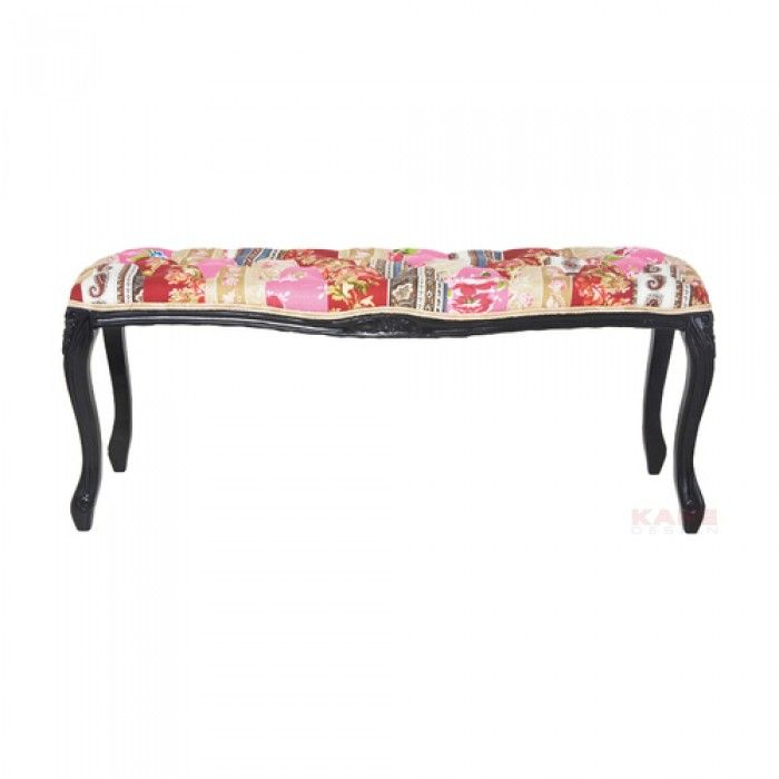 Patchwork Bench