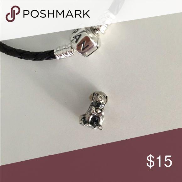 Pandora dog charm Dog charm Pandora Jewelry Bracelets