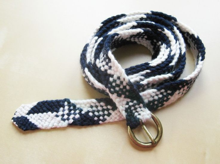 A braided cotton belt is a wardrobe basic, but when you make it yourself you can customize the colors and length to be exactly what you want.