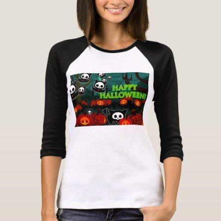 Happy Halloween Black Cats And Bats T-Shirt - tap, personalize, buy right now!