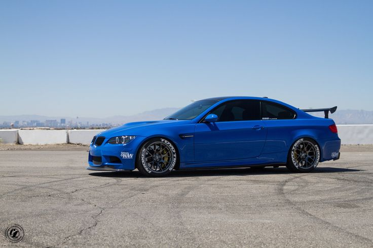 Santorini Blue BMW E92 M3 | http://www.modifiedperformanceparts.com/santorini-blue-bmw-e92-m3/