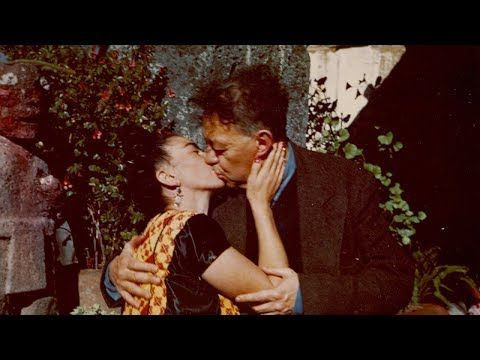 Rare And Precious Footage Of Frida Kahlo And Diego Rivera At Their Blue House In Mexico City