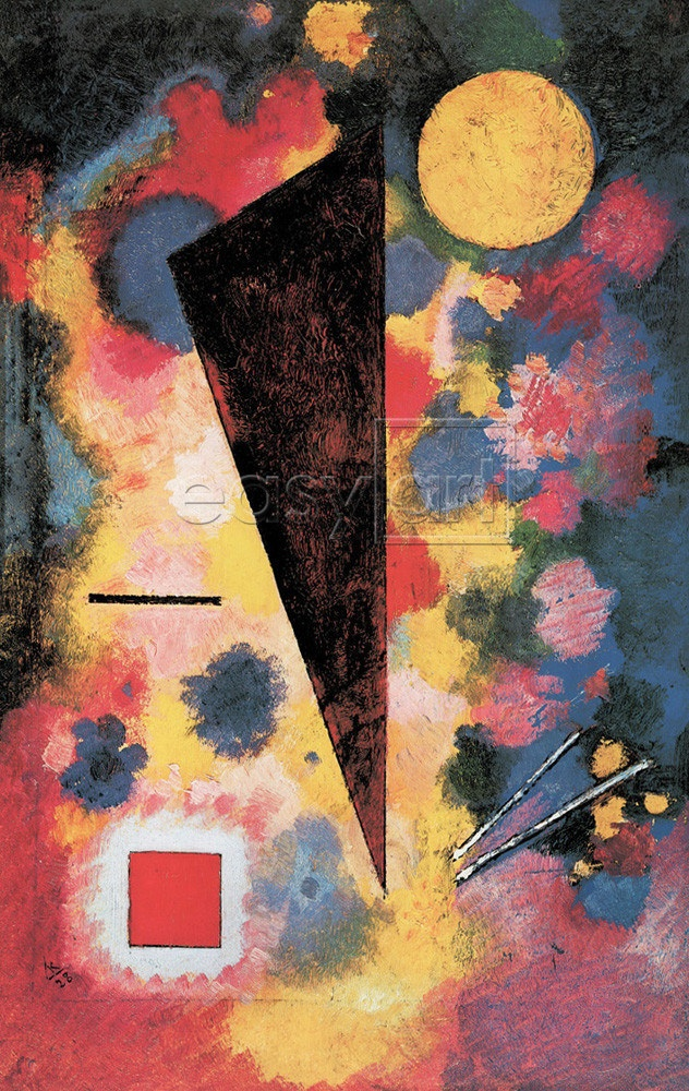 Résonance multicolore, 1928 - Kandinsky