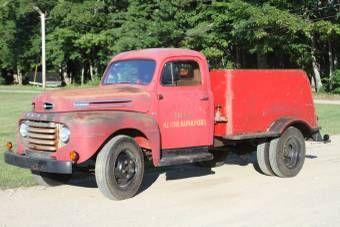 1948 Ford F5 Pumper Truck