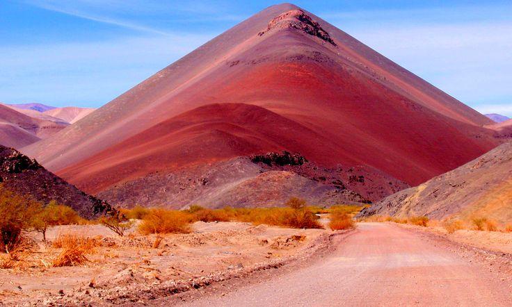 Desierto de Atacama en Chile.