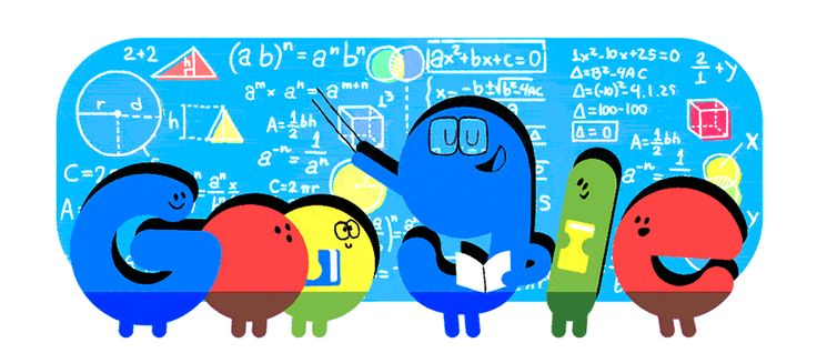 Doodle spotlights National Teachers Day, highlighting teachers' efforts to encourage our intellectual development.