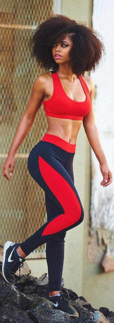 Workout outfits are not only becoming more agile friendly but also looking more glamorous.