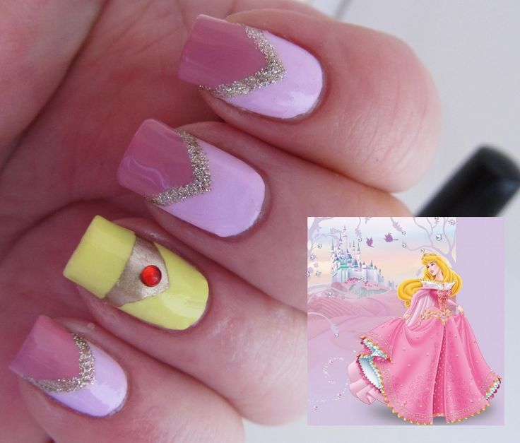 Its all about the polish: Disney Princess Challenge - Sleeping Beauty