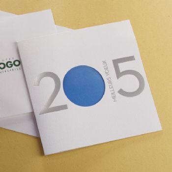 cartes de voeux entreprises découpe et transparence cartes de voeux entreprises 0550818585
