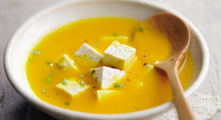 Recette de #soupe de #potiron à la #feta