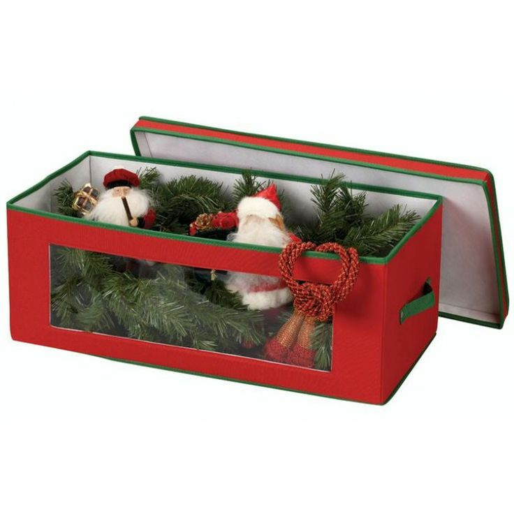 Christmas Ornament Storage Chest