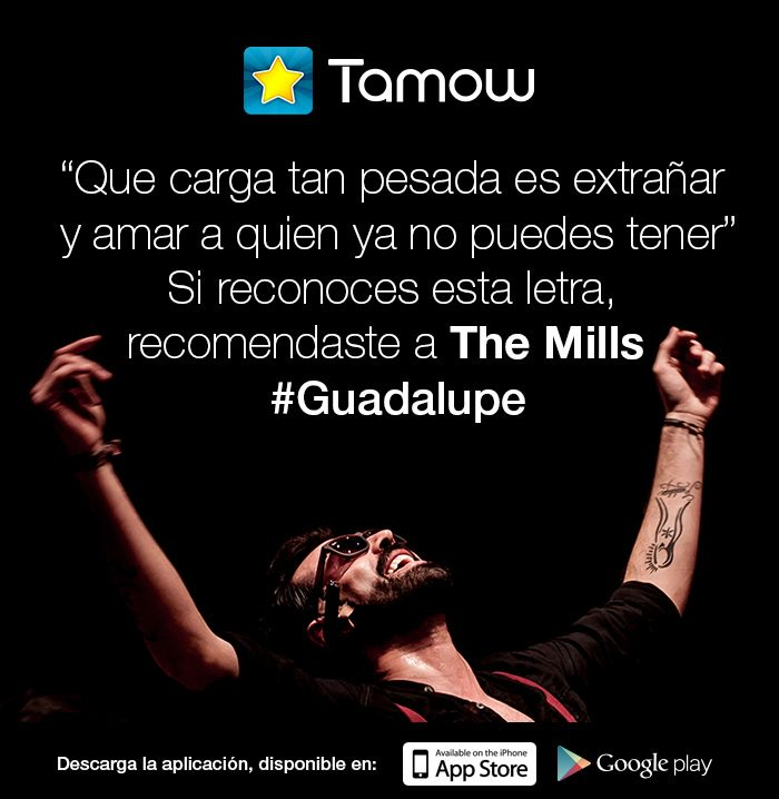 Para que tengas un viernes de buena música #TeRecomendamos la banda THE MILLS ¡Canciones que te envolverán! #Califica la banda con Tamow — con THE MILLS