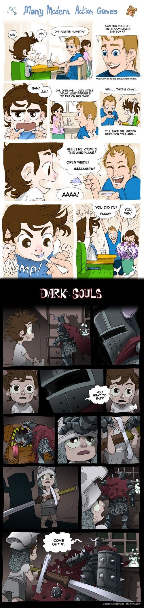 Why More Games Should Be Like Dark SoulsDarksouls, Videos Games, Funny Stuff, Finding Funny, Action Games, Funny Games, Dark Soul Funny, True Stories, Funny Memes