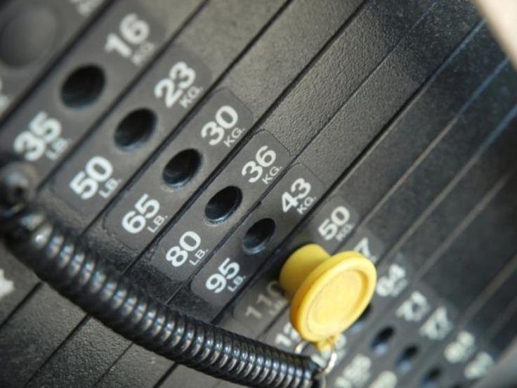 workout machine routine
