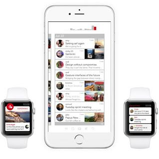 Jumpin Labs launches gesture-based email app Geronimo for iPhone and Apple Watch - Videos. #Mac #MacOSX #Apple @MyAppsEden  #MyAppsEden