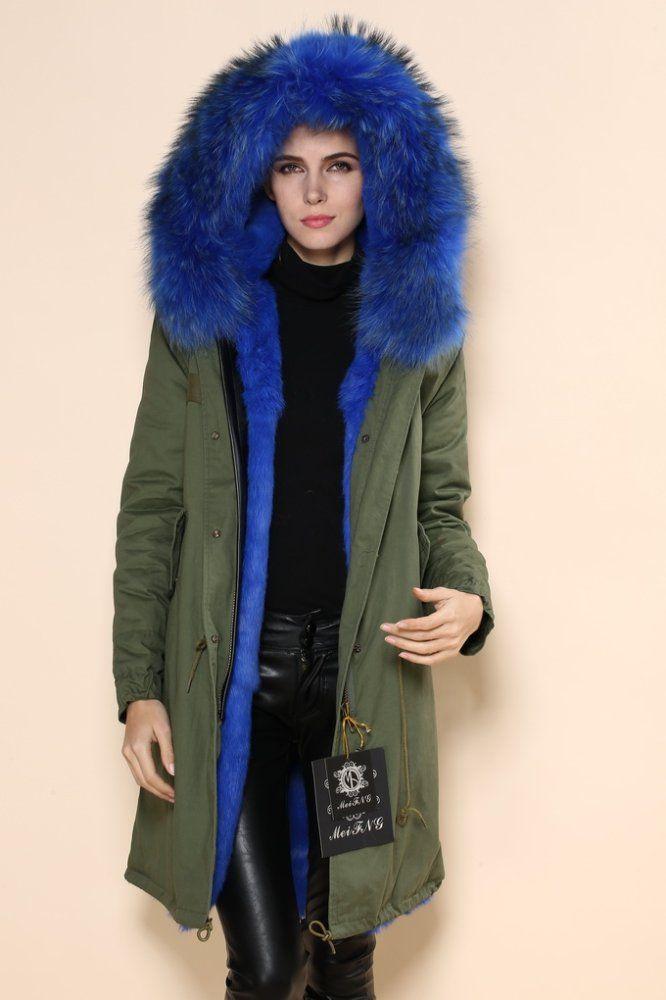 MEIFNG army fur parkas,coats,anorak | Don Ouyang | LinkedIn