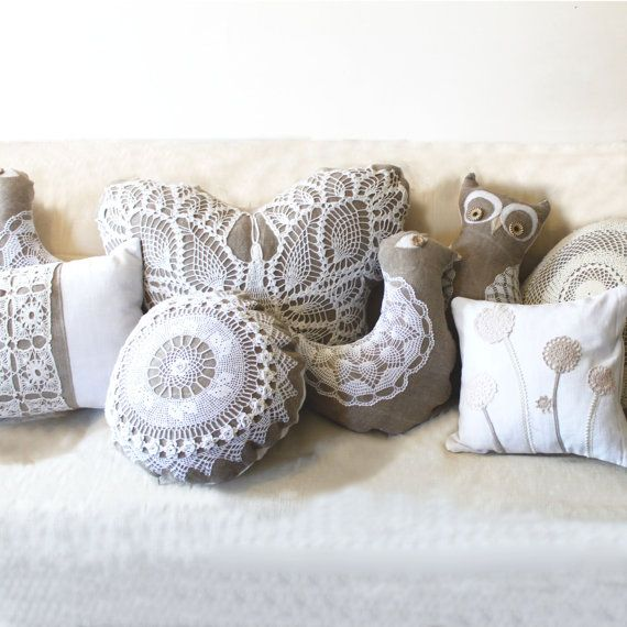 Doily Cushions
