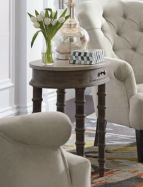 An Elegant Addition To Any Room The Lissette Side Table Features Ball And