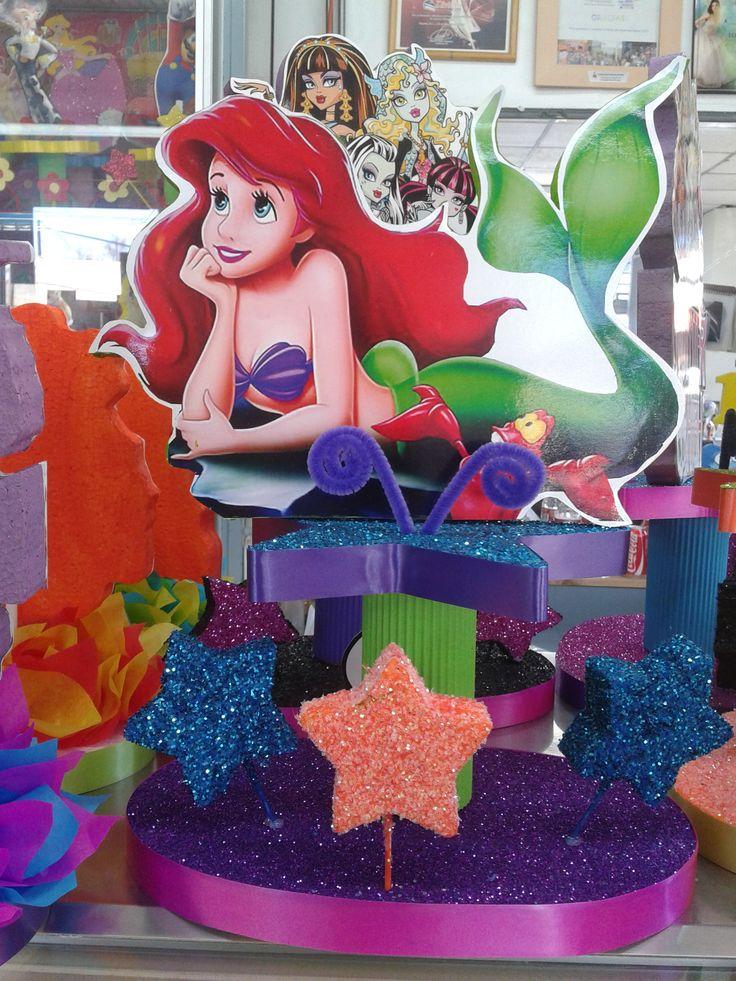 13 best images about princesa ariel the little mermaid - Centros de decoracion ...