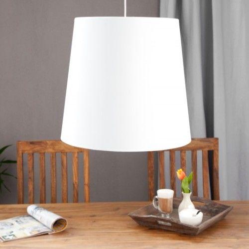 Závesná lampa Sapphire M biela zlatá